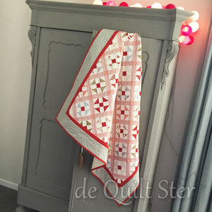Quilt Ster Patroon Quilt 'Sweet Winter'