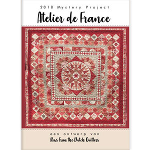 Rows from the Dutch Quilters   Atelier de France - patroonbooklet