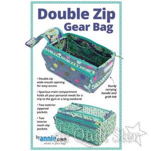 ByAnnie | Double Zip Gear Bag
