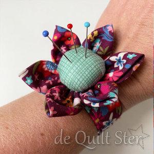 Quilt Ster Pakket 'Speldenbloem Armband'
