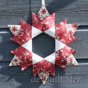 Quilt Ster Pakket 'Kerst Ster'