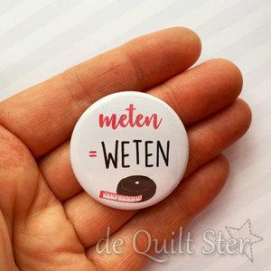 Button Meten is Weten