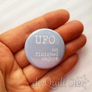 Button U.F.O. [Un Finished Object]