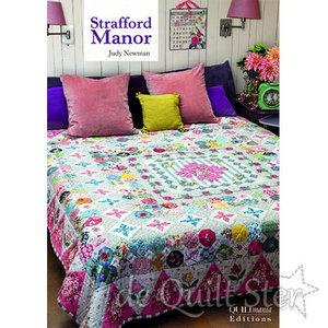 Judy Newman | Strafford Manor - patroon booklet *OP BESTELLING*