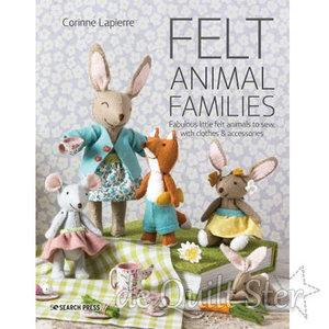 Corinne Lapierre - Felt Animal Families