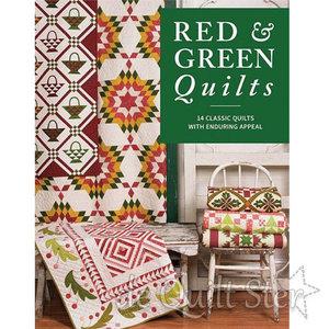 Lissa Alexander - Red & Green Quilts (14 designers)