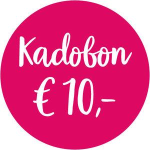 Kadobon € 10,00