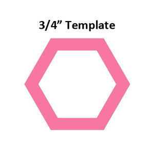 Hexagon 3/4inch - Template I-Spy - Acryl Laminate