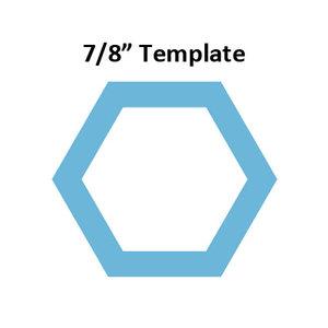 Hexagon 7/8inch - Template I-Spy