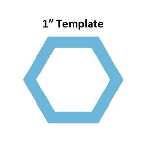 Hexagon 1inch - Template I-Spy