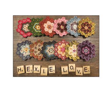 Ansichtkaart - Hexie Love