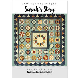 Rows from the Dutch Quilters | Sarah's Story - patroonbooklet