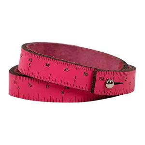 "Wrist Ruler   Hot Pink 16"""