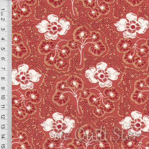 COUPON The Midlands | Colebrook faded red [1002-0126] 52x110cm