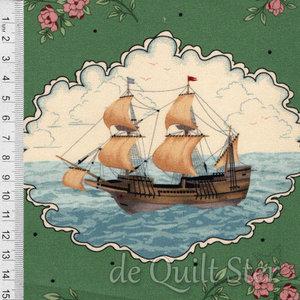 Journey to America | Mayflower Ship [0887-0114]