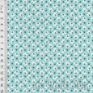 Annabella | Flowers and Beans Teal [9723T]