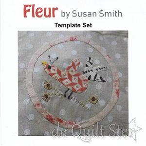 Susan Smith | Fleur Quilt - templates *OP BESTELLING*