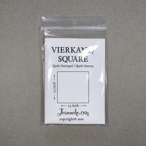 Stempel - Vierkant 1-1/2inch *PRE-ORDER*