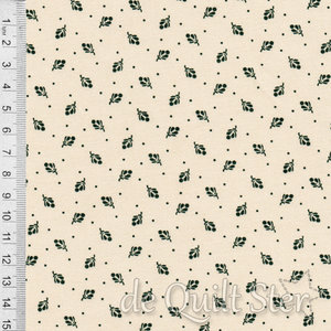 COUPON Full Circle | Leaf beige/groen [0648-1041] 50x110cm