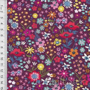 COUPON Rosa | Rozetten [11825-15] 92x110cm