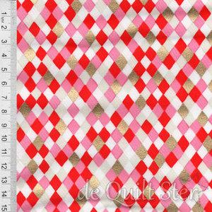Flurry | Diamonds red/pink/gold [5032-12M]