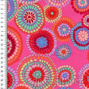 Kaffe Fassett Collective | Mosaic Circles Pink [GP176]