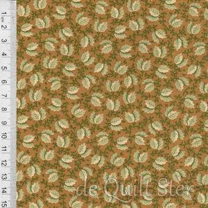 COUPON Full Circle | Leaf olijf [0649-1032] 65x110cm
