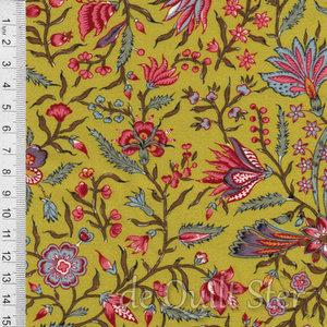 Antique Textiles Company | Chintz Provence Green [4023]