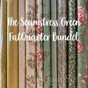Bundel   The Seamstress Green - FatQuarters
