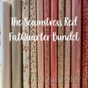 Bundel | The Seamstress Red - FatQuarters