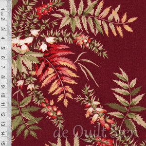 The Seamstress | Fern Cranberry [9768R]