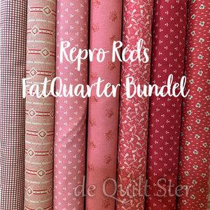 Bundel   Repro Reds - FatQuarter