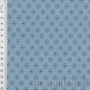 Bountiful Blues | Dots Stripe Light Blue [2207]