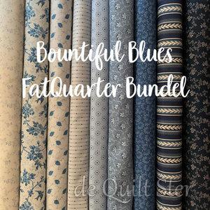 Bundel | Bountiful Blues - FatQuarter