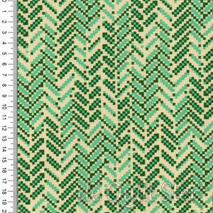 True Kisses | Boho Pixel Green [90372-75]