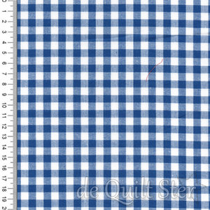 "Carolina | Gingham 1/4"" Royal Blue [16368-11]"