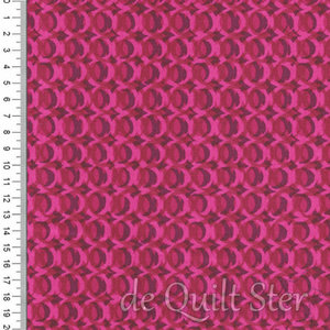 COUPON Poolside | Rings purple-pink [6015-7] 90x110cm