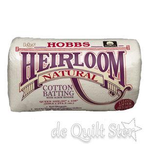 COUPON Hobbs Heirloom Cotton met scrim - 90x240cm