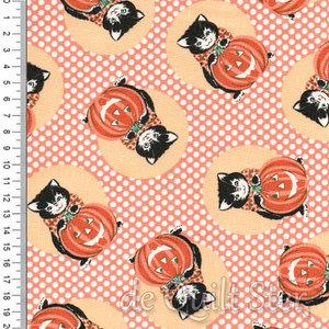 Kitty Corn   Halloween Cat & Pumpkin [31171-13]
