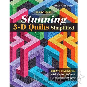 Ruth Ann Berry   Stunning 3D Quilts Simplified
