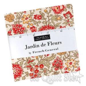 Moda Charm Pack   Jardin de Fleur by French General