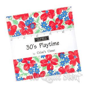 Moda Charm Pack  30's Playtime by Cloe's Closet
