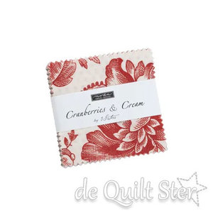 Moda Candy | Cranberries & Cream by 3 Sisters