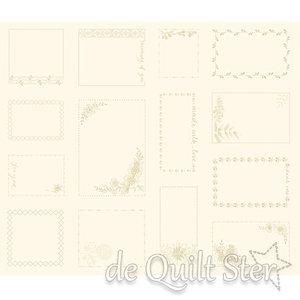 Bluebird | Panel VintageQuilt Labels [9851L] (14 stuks)