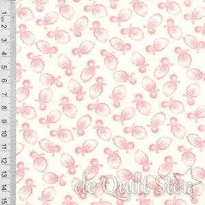 Porcelein| Shirting Leaf & Berry [13503-13]