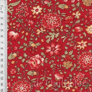 Jardin de Fleurs   Sits bloemen rood [13894-12]
