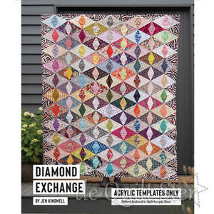Jen Kingwell - Template Set 'Diamond Exchange'