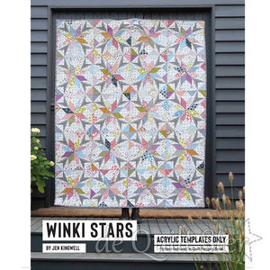 Jen Kingwell - Template Set 'Winky Stars'