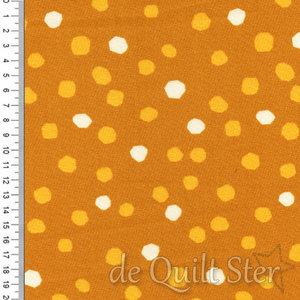 First Light   Dots Mustard [5048-16]