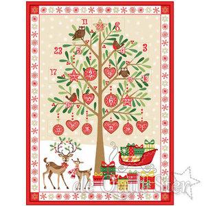 Kerstpanel | Christmas Tree Advent